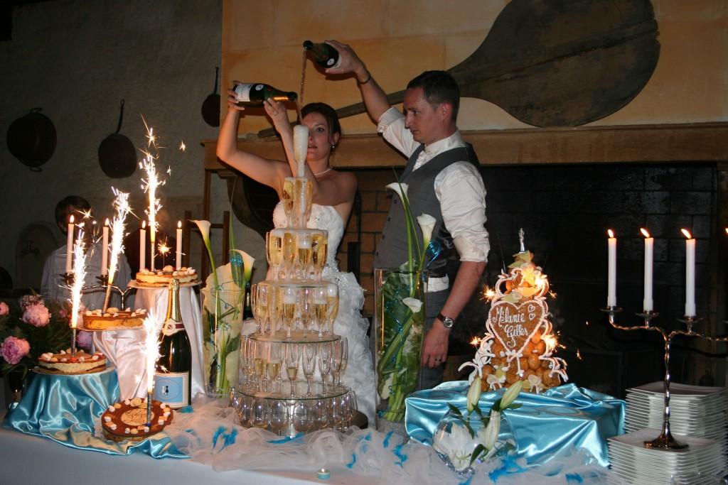 Le mariage en bleu et blanc et à son image de Minette - Photo Azaliya (19)