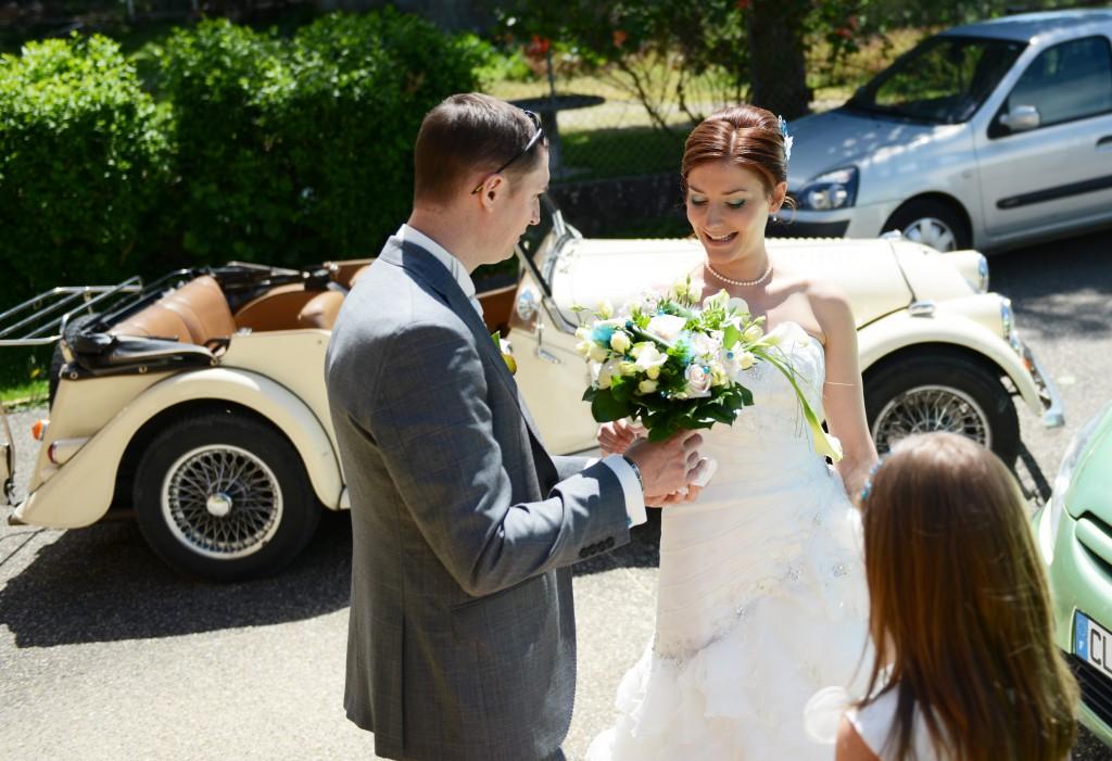 Le mariage en bleu et blanc et à son image de Minette - Photo Azaliya (4)