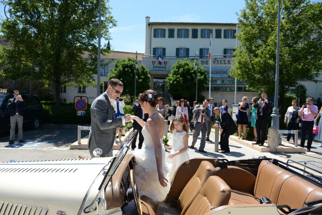 Le mariage en bleu et blanc et à son image de Minette - Photo Azaliya (6)