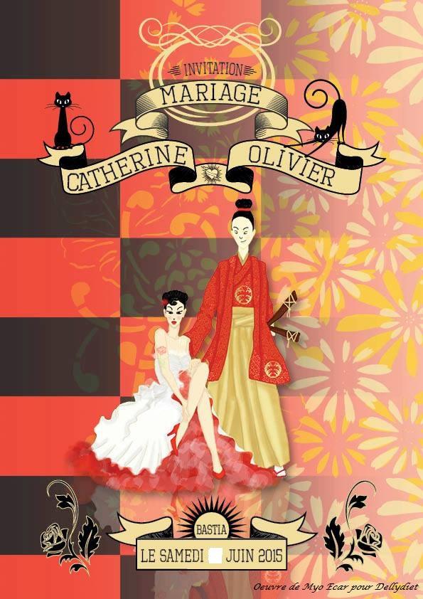 Le mariage rockabilly et participatif de Catherine dans le Cap Corse (1)