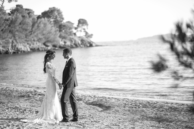 Le mariage romantique de Julie en Provence