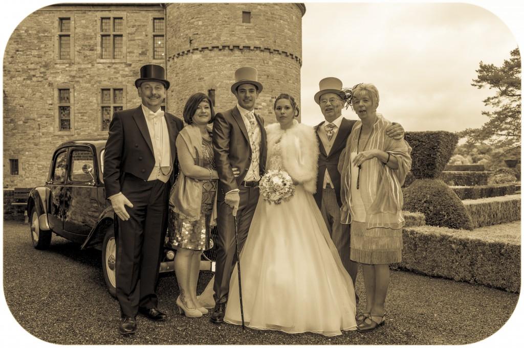Le mariage romantique de Mme Charleston sur le thème des années folles - Photo Cédric Alexandre (5)
