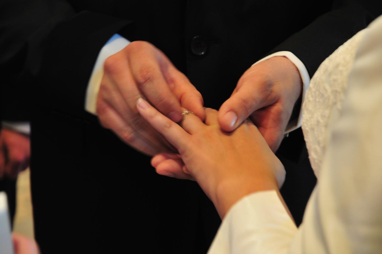 Mon mariage en gris et vert : la cérémonie réligieuse