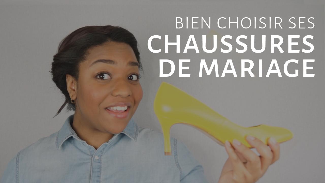 Comment bien choisir ses chaussures de mariée