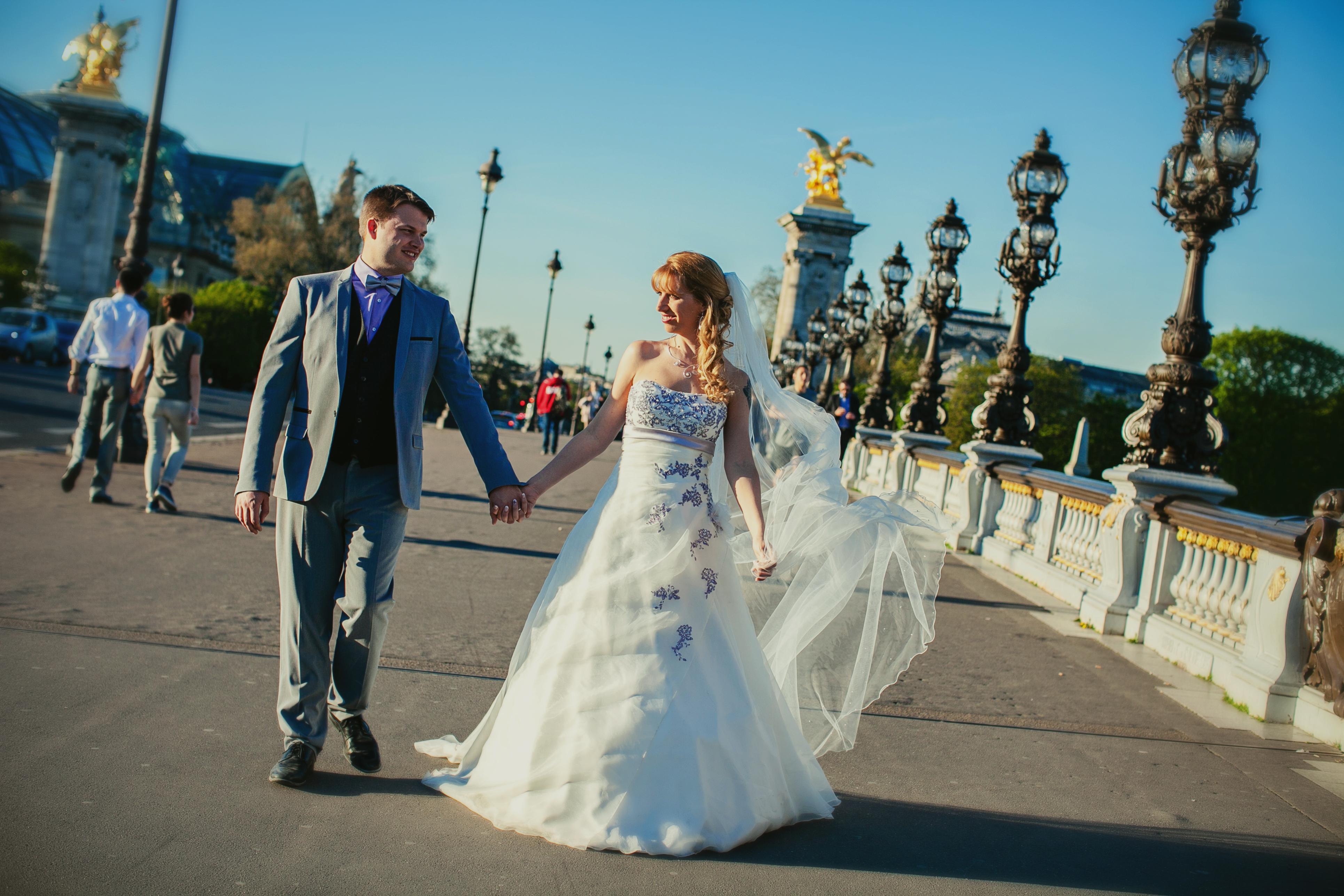 Mon mariage franco-américain en lilas et blanc : le bilan