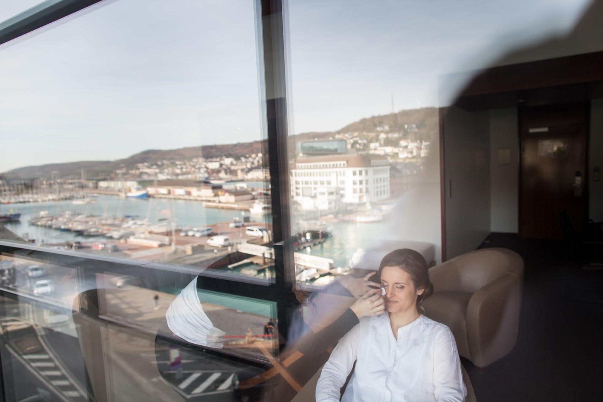 Les préparatifs à l'hôtel de la mariée - Sébastien Leloup