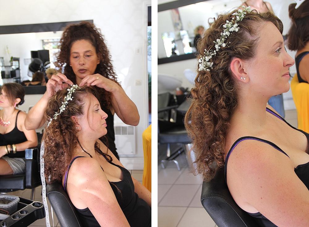 Le mariage de princesse en bleu de Madame D - Les préparatifs (9)