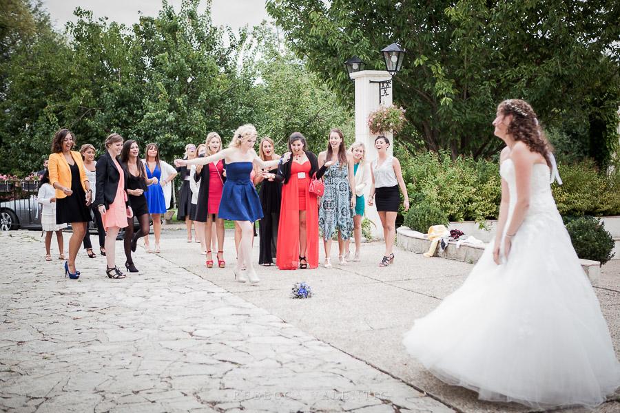 Le mariage de princesse en bleu de Madame D - cérémonie et vin d'honneur (17)