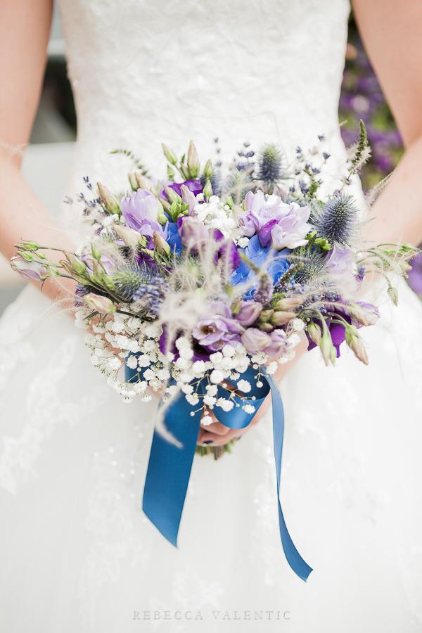 Le mariage de princesse en bleu de Madame D - cérémonie et vin d'honneur (2)