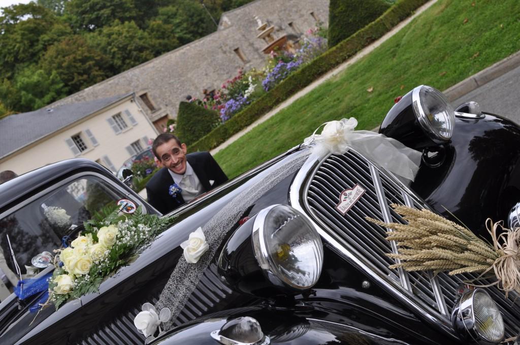 Le mariage de princesse en bleu de Madame D - cérémonie et vin d'honneur (21)