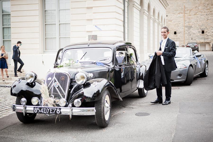 Le mariage de princesse en bleu de Madame D - cérémonie et vin d'honneur (9)