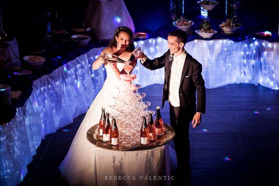 Le mariage de princesse en bleu de Madame D - soirée (16)