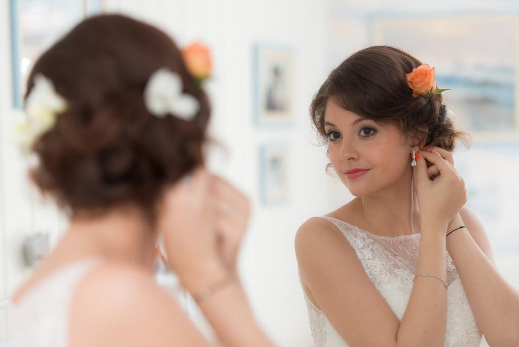 Le mariage romantique de Loulou aux touches corail (2)