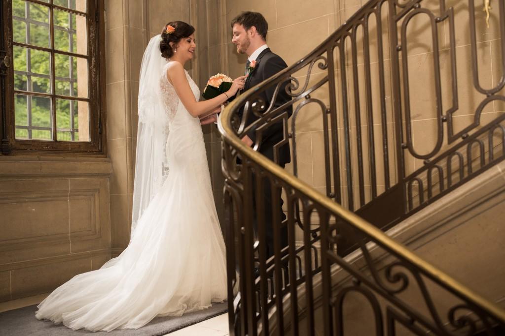 Le mariage romantique de Loulou aux touches corail (5)