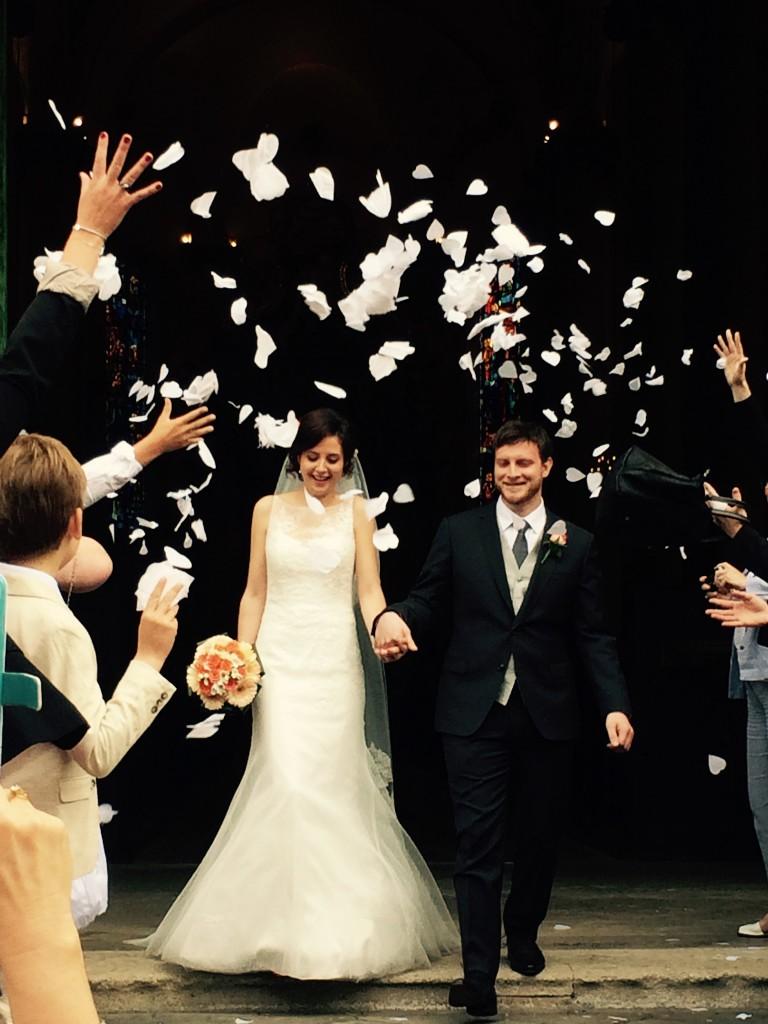 Le mariage romantique de Loulou aux touches corail (9)