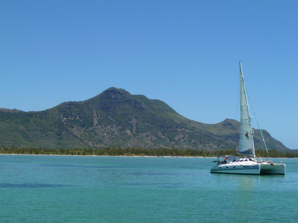 Journée en catamaran à l'île Maurice