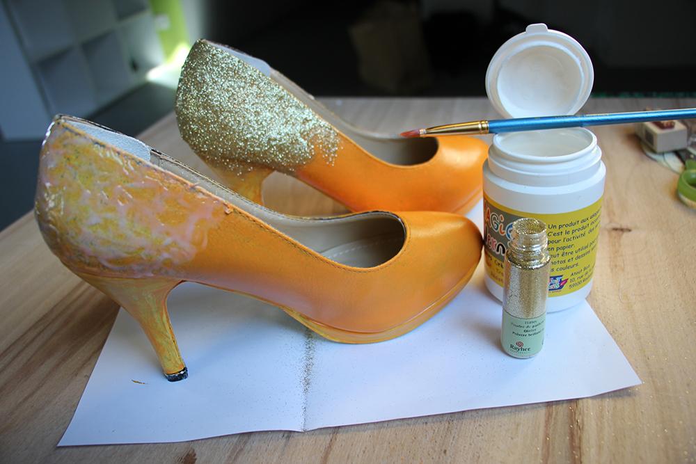 Tuto customisation de chaussures