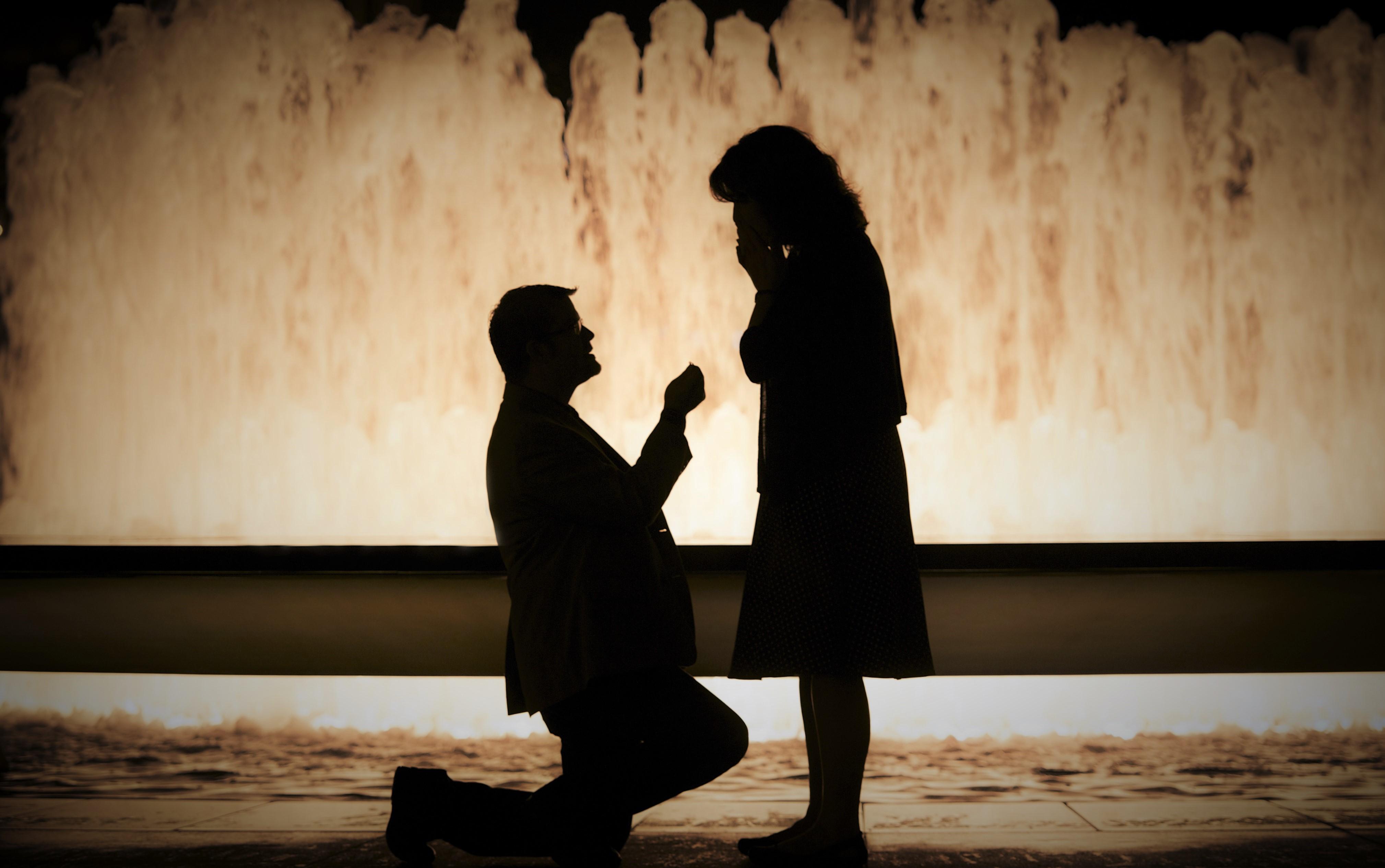 Mon mariage entre rêve et réalité : La demande