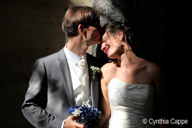 Mon mariage rock et romantique: nos photos de couple dans Paris, à deux… enfin presque!