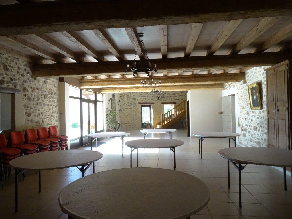 Salle de réception Mlle Briquette