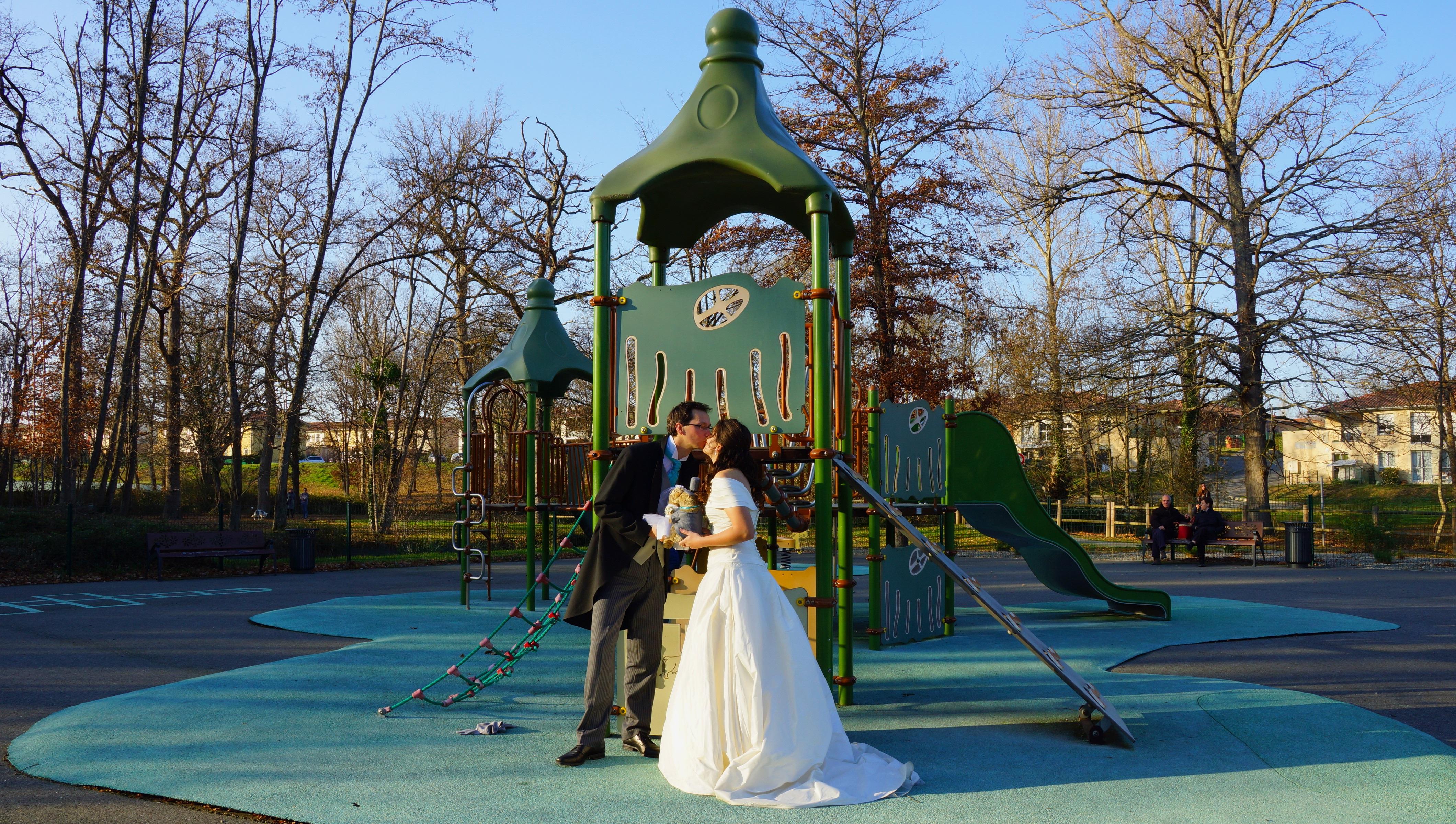 """Mon mariage marmottes et flocons : nos photos """"juste pour rire"""""""
