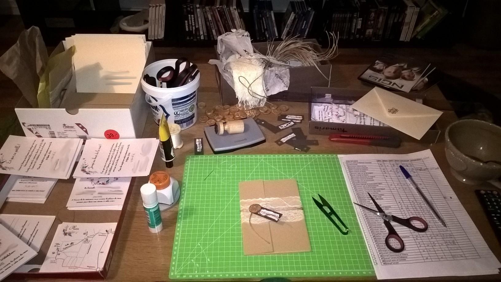 Des faire-part DIY : de la réflexion à leur conception