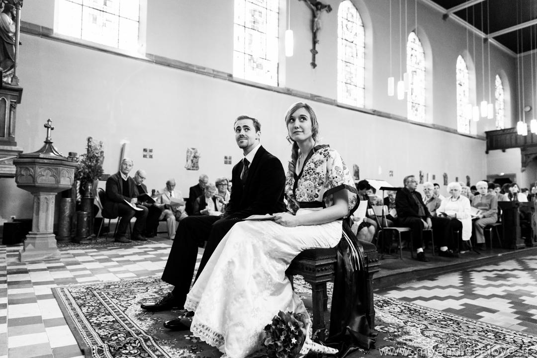 Mon mariage sci-fi, sans chichis et avec plein de DIY : l'église – partie 1