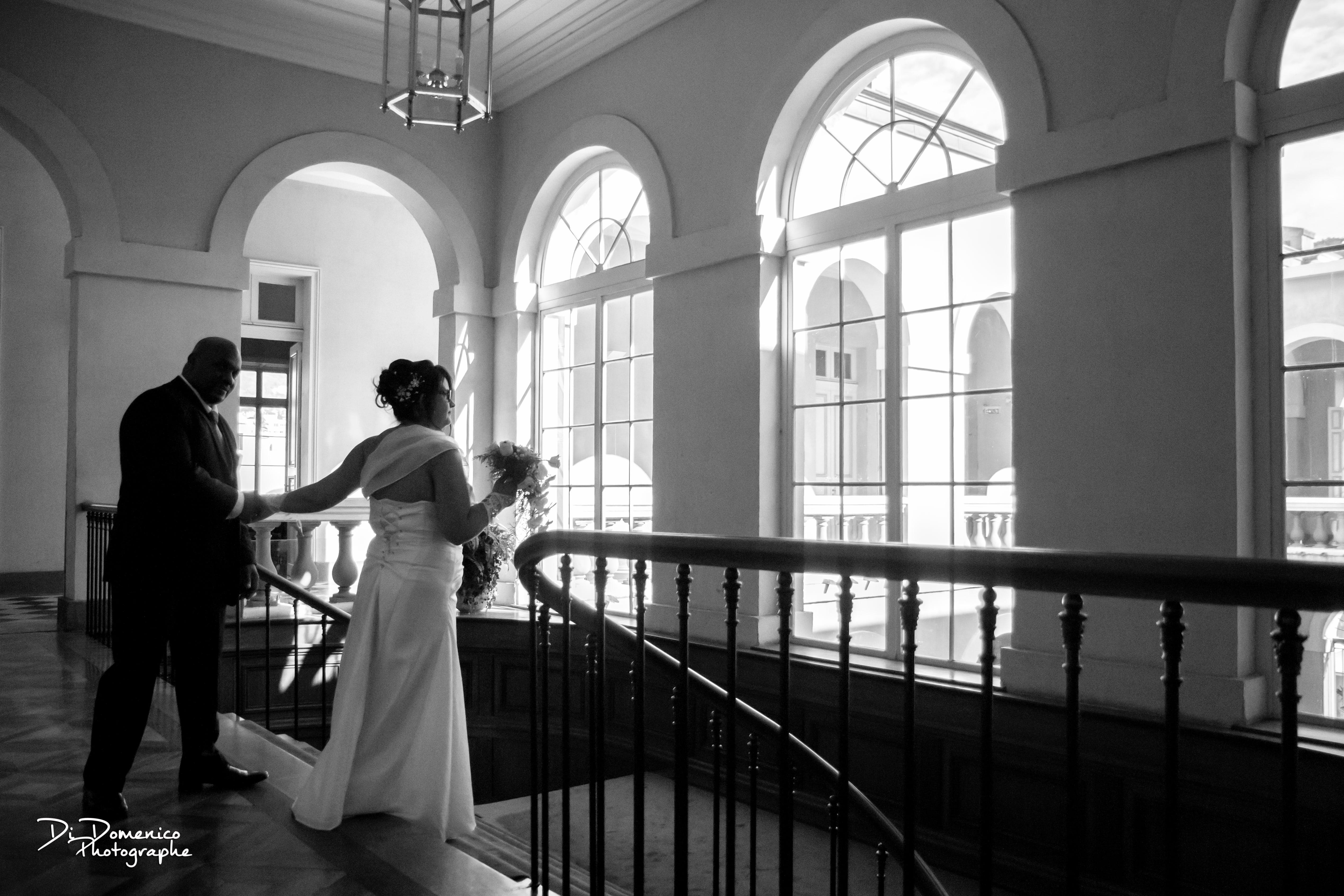 Le mariage traditionnel créole en noir et ivoire de Yolaine
