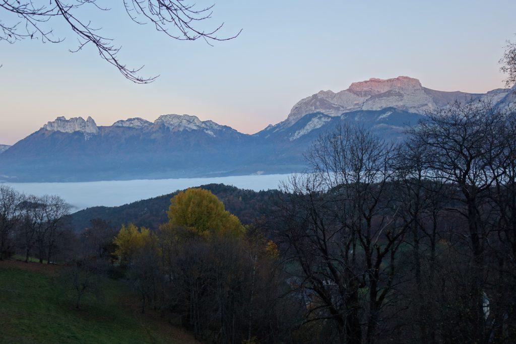 Lac d'Annecy et la Tournette