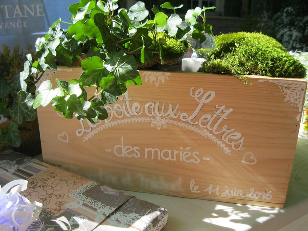 Boîte aux lettres Mme Salade de Fruits