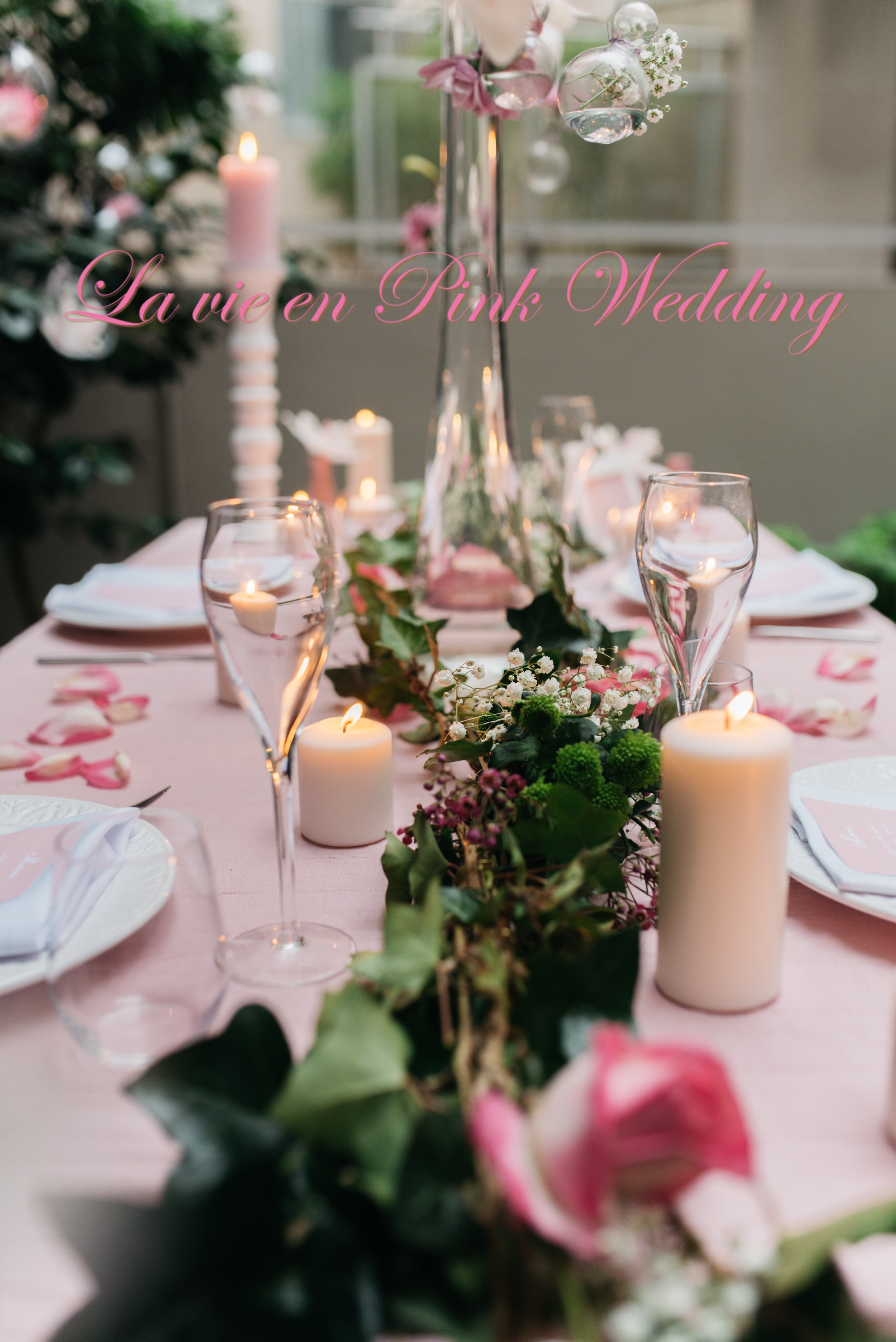 La vie en Pink Wedding
