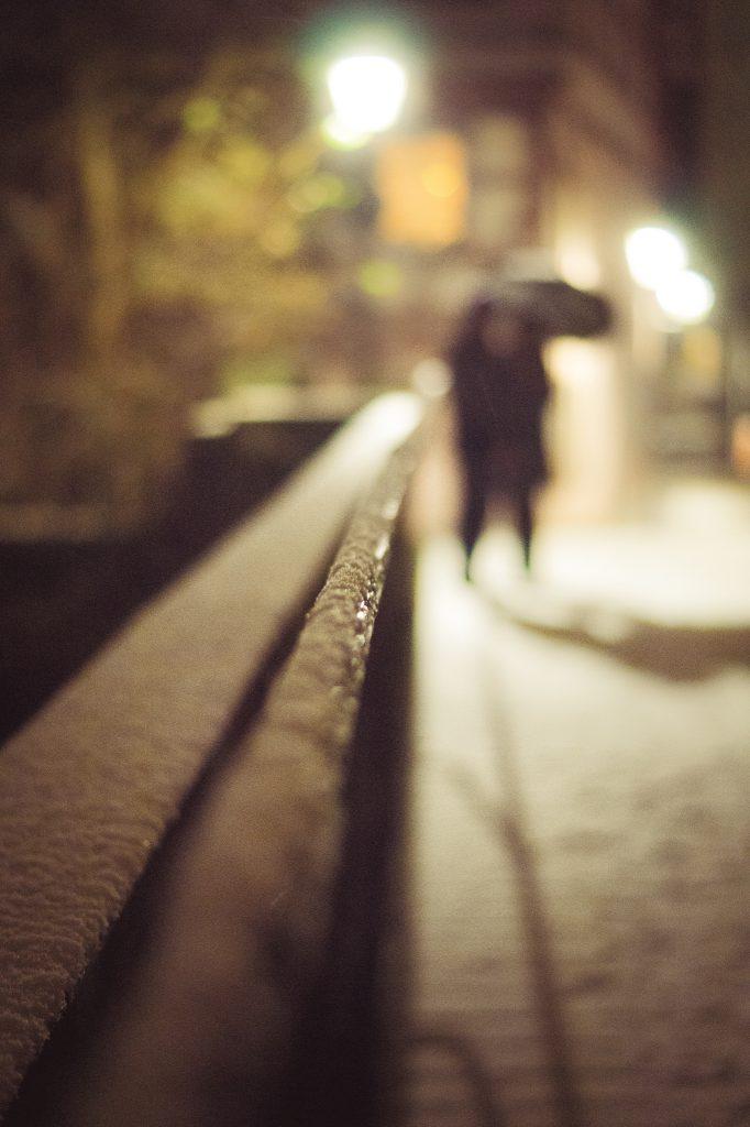 Une rencontre en hiver