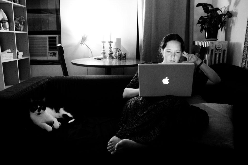 Notre rencontre sur Internet