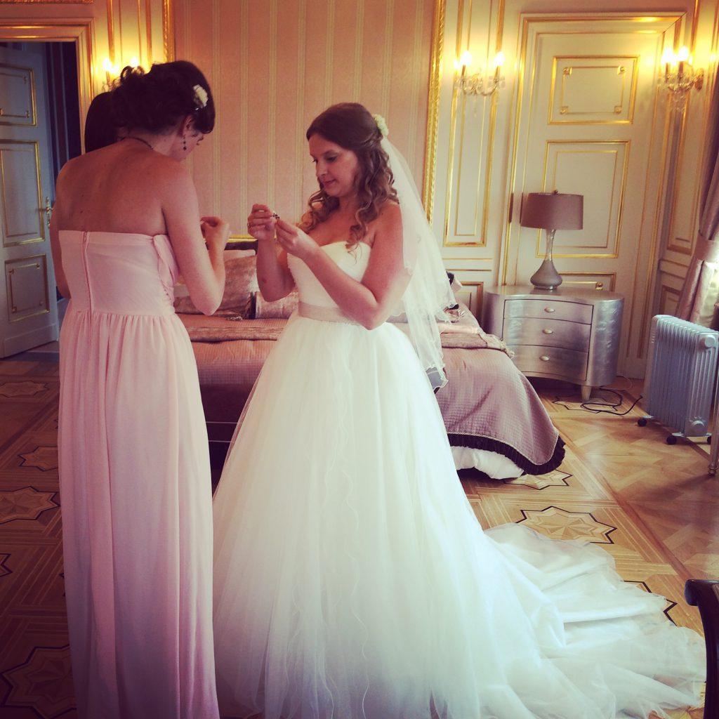 Le mariage de Mme Frimousse entre la France et les États-Unis (2)