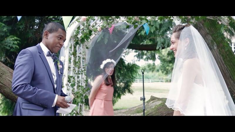 Teaser vidéo du mariage de Mme Etoffes
