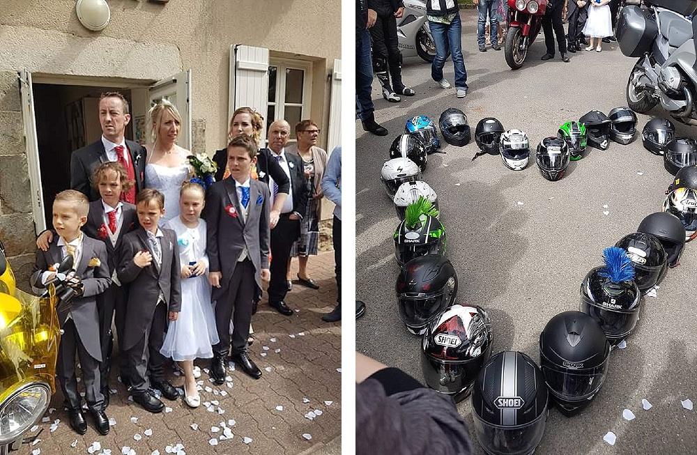 Le mariage de Fina en moto (4)