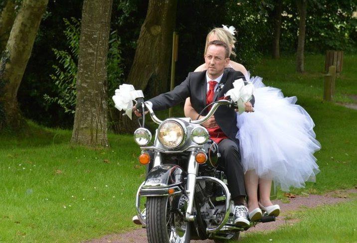 Le mariage de Fina en moto (6)