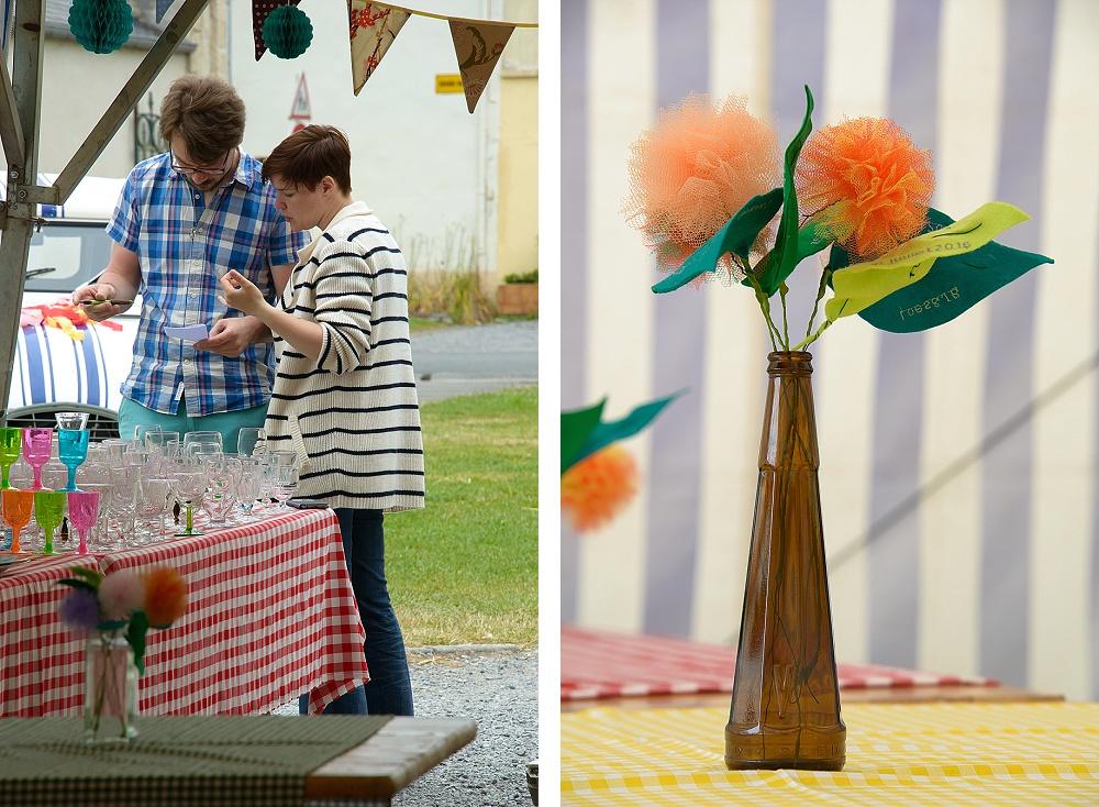Le mariage kermesse et récup' créative de Loes - Photo Labograph (4)