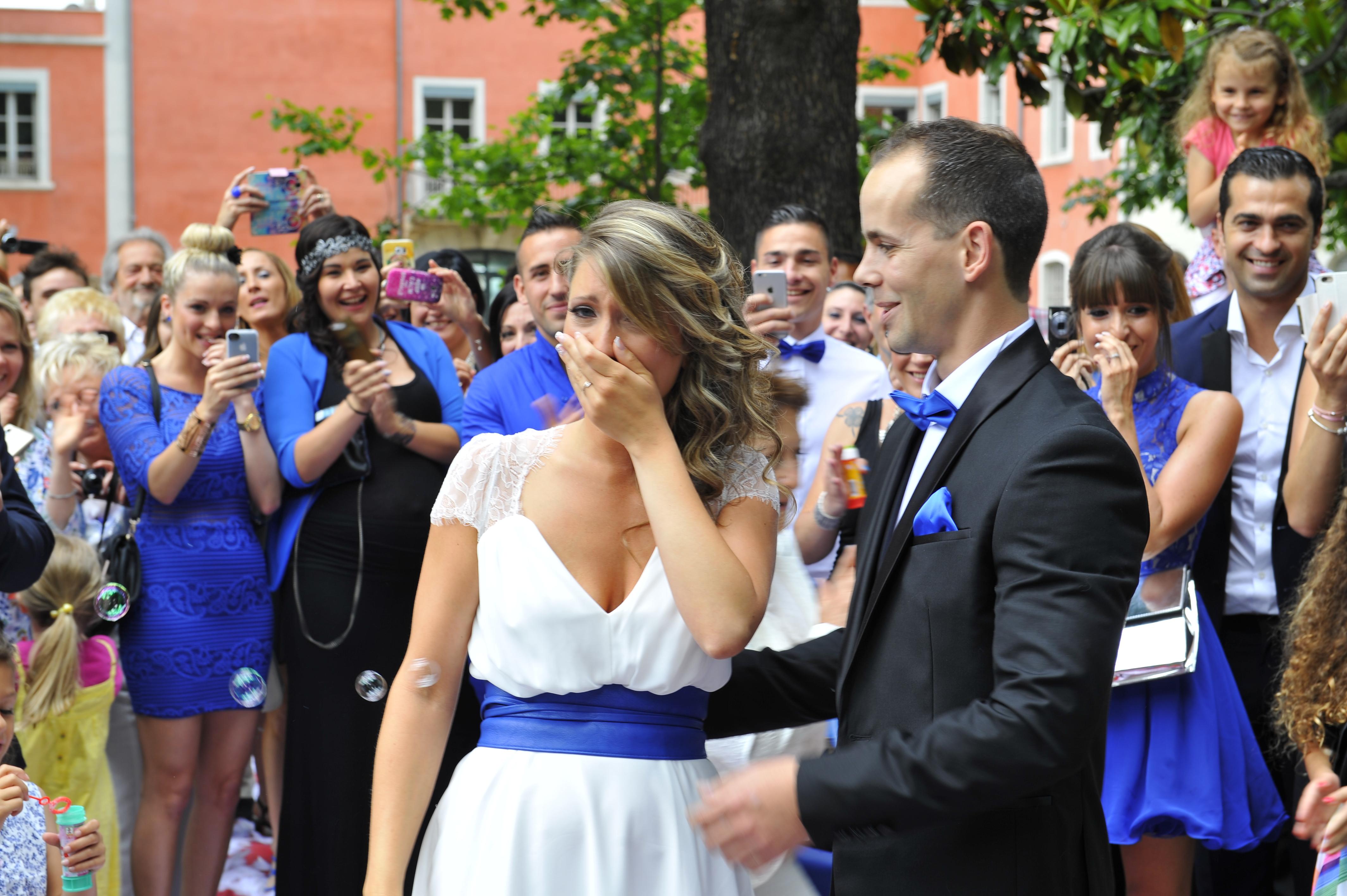 Le mariage surprise d'Alison organisé de A à Z par son fiancé