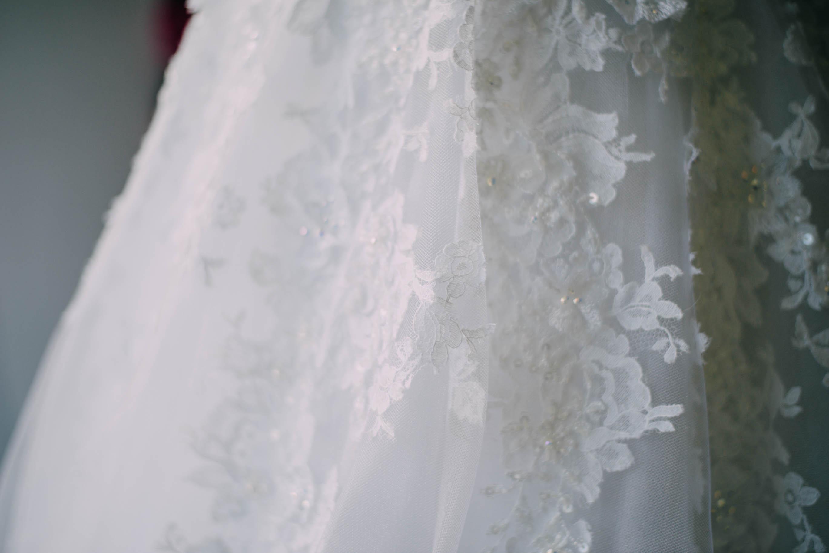 Le choix final de la robe
