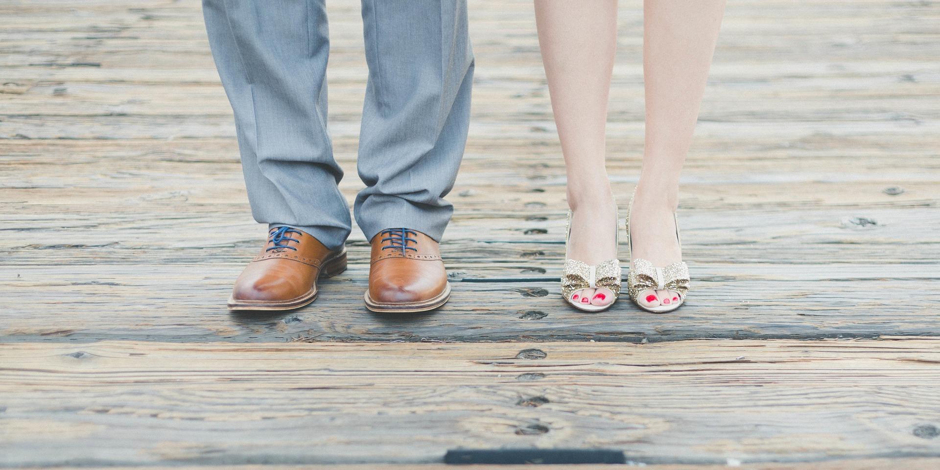 Dans les souliers de la mariée