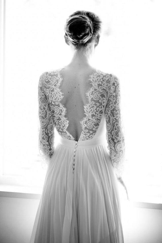 Ma robe de mariée rêvée ou mes critères de longue date