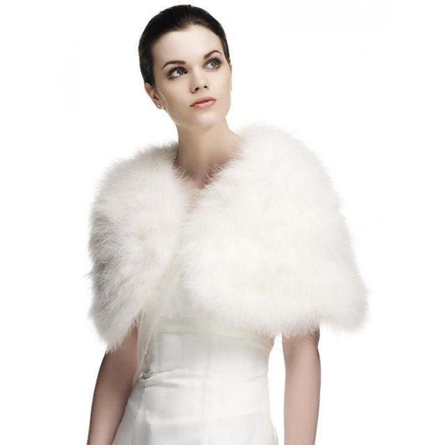 Mariée d'hiver : que mettre par-dessus ma robe ?