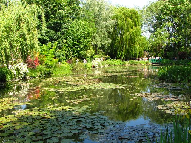 Notre thème de mariage inspiré de l'Impressionnisme et du Jardin de Monet à Giverny