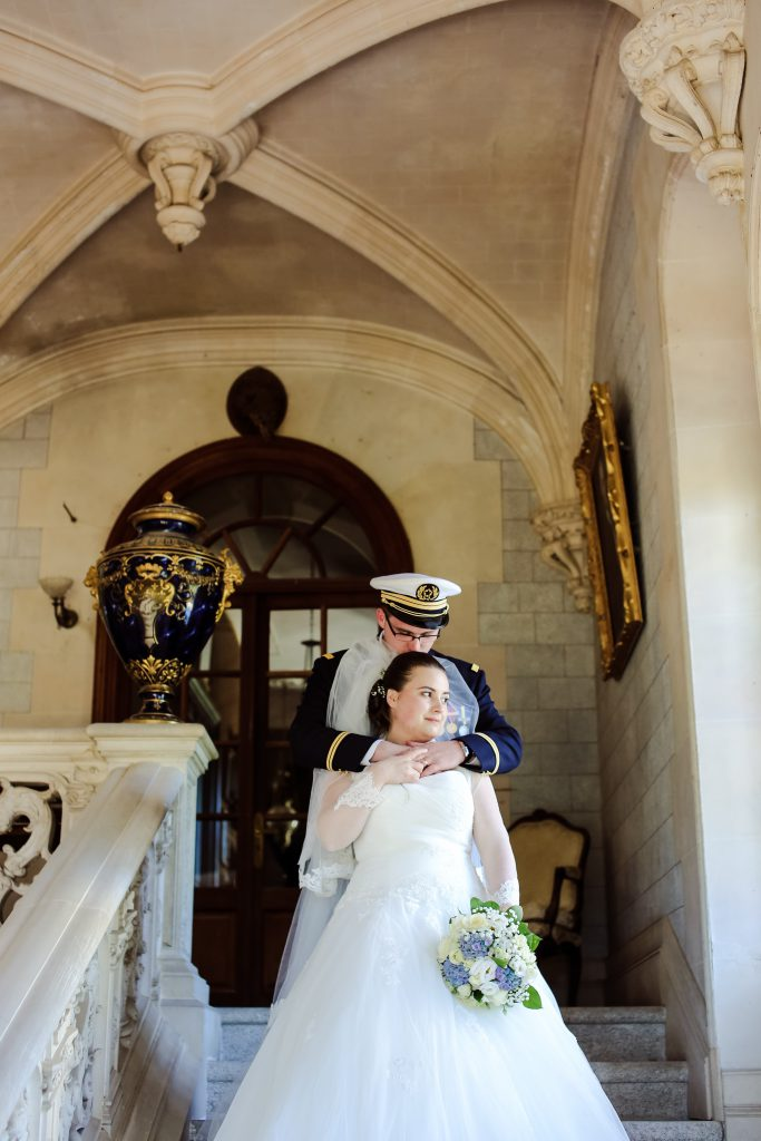 Nos photos de couple au château // Photo : Anita Gallot