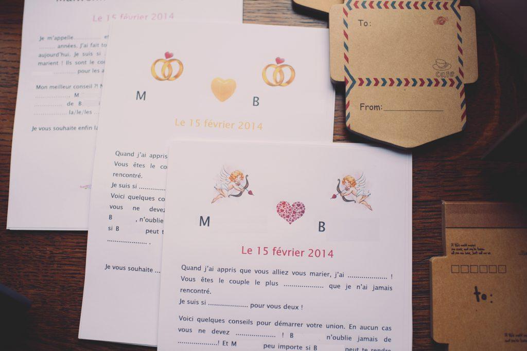 Mariage Saint-Valentin : cocktail et repas de mariage // Photo : Joyeuse Photography