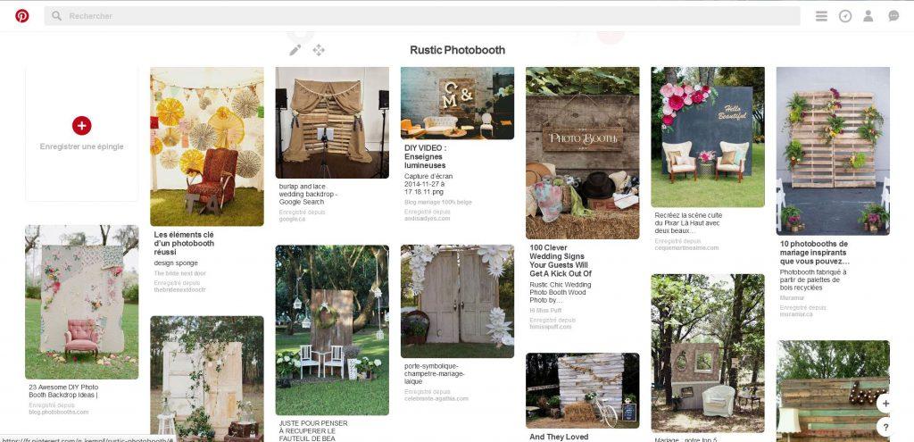 Comment créer notre photobooth de mariage ?
