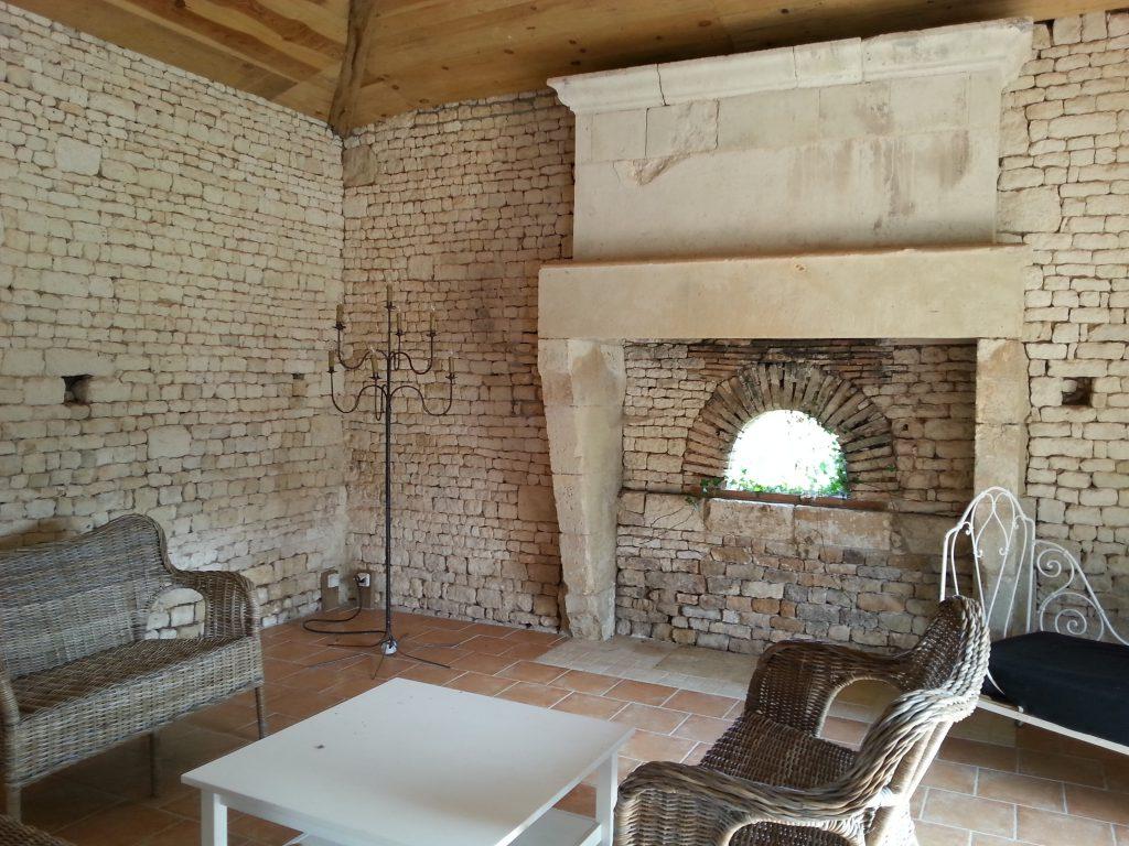 Notre lieu de réception au Château de la Chevallerie