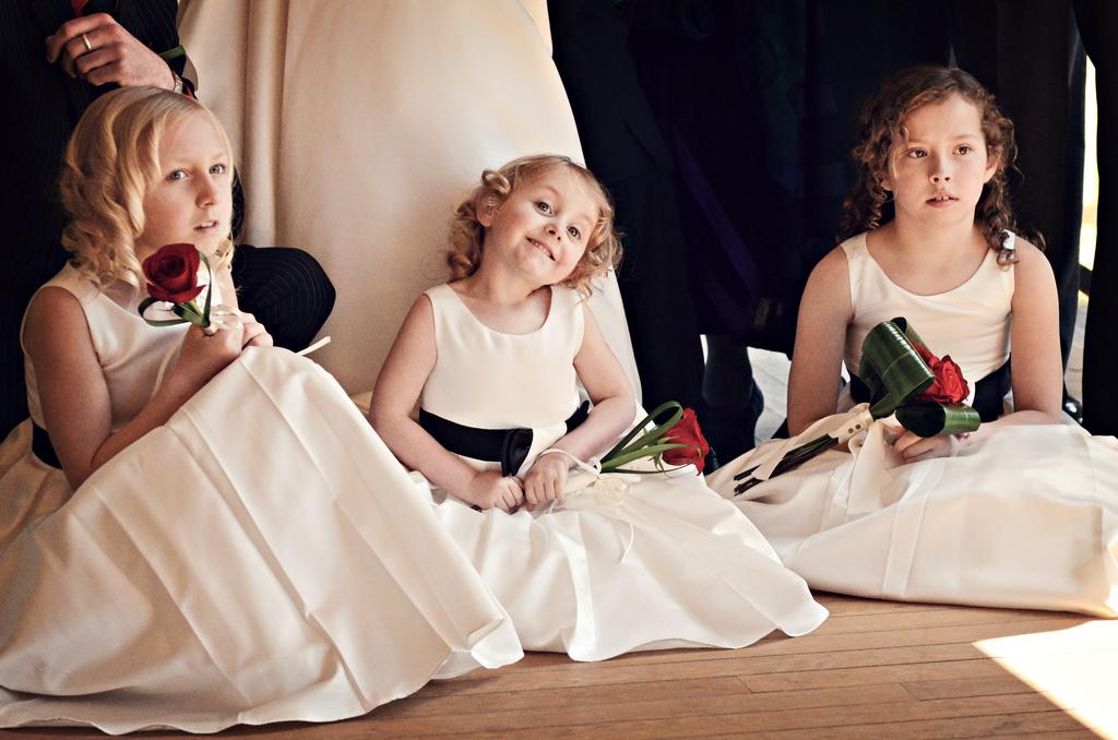Les jupes DIY de mes petites filles d'honneur ou une tenue avec zéro couture !