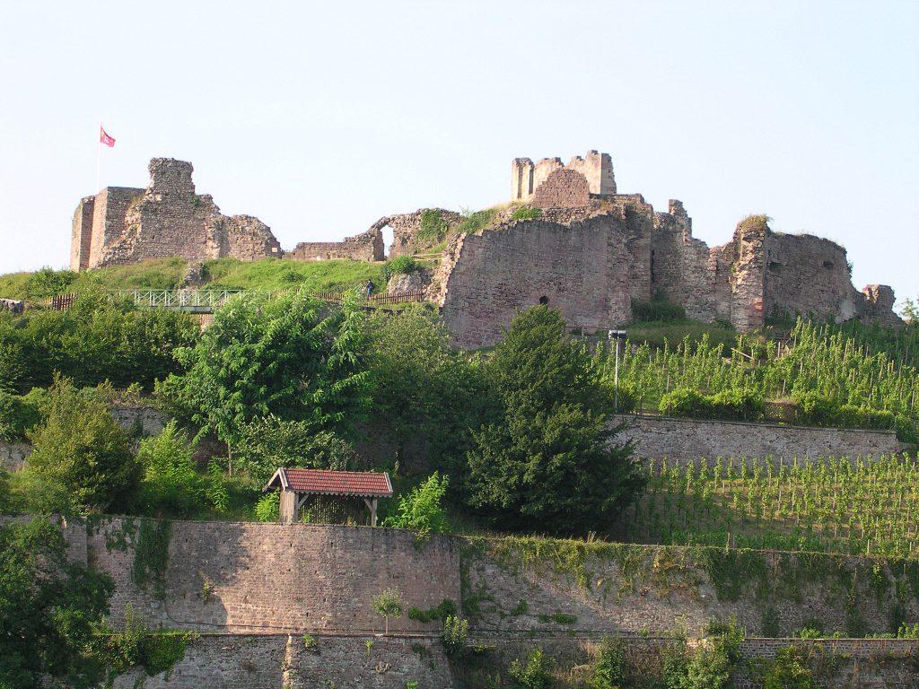 Châteaux dans les Vosges
